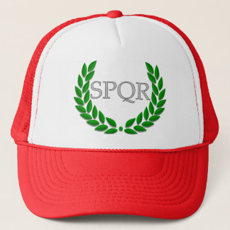 SPQR-hatt Truckerkeps