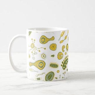 Spridd KÄRLEK, spridning, bakterier Kaffemugg