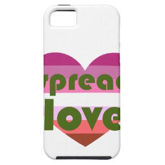 Spridd lesbisk kärlek tough iPhone 5 fodral