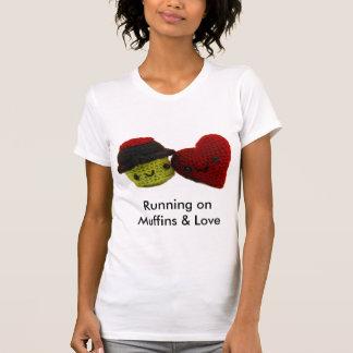 Spring på muffiner & kärlek - rinnande Singlet T Shirt