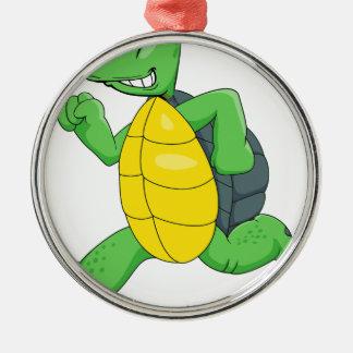 spring turtle2 julgransprydnad metall