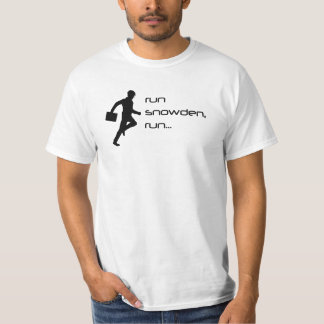 Springa Snowden, springaT-tröja Tee Shirts