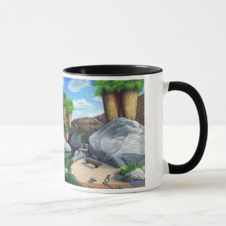 Springtime i kanjonkaffemuggen mugg
