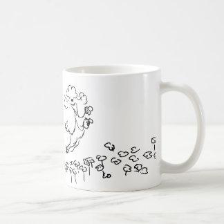 Springy pudel kaffemugg