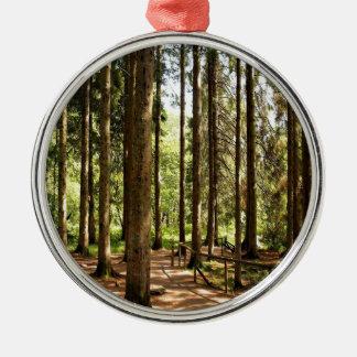 Spruce illusioner för träd julgransprydnad metall