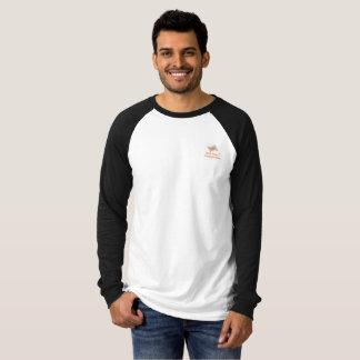 Spurticket produktionmanar skjorta för Raglan Tee Shirt
