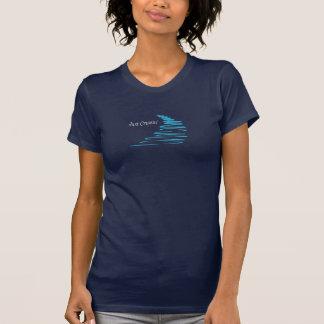 Squiggly Lines_Just Cruisin'_Aqua T Shirts