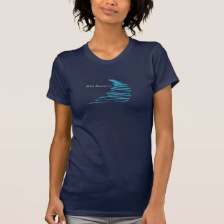 Squiggly Lines_Wet drömmar Tshirts
