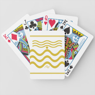 Squiggly linjer spelkort
