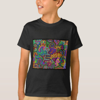 Squiggly noja t shirt