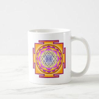 Sri Chakra gudinna Shri Lalitha Tripura Sundari Kaffemugg