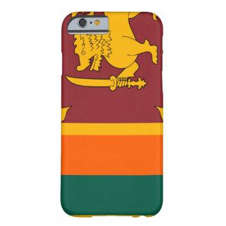 Sri Lanka flagga Barely There iPhone 6 Fodral