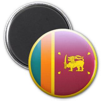 Sri Lanka flagga Magnet