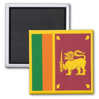 Sri Lanka flaggamagnet Magnet