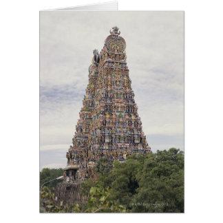 Sri Meenakshi Amman tempel, Madurai, Tamil Nadu, Hälsningskort