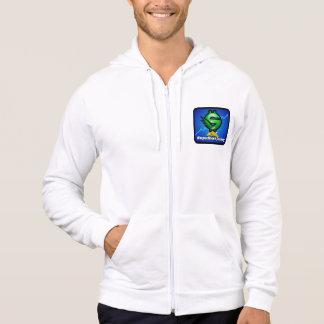 Ssj-manar stil två för sportkläder sweatshirt med luva