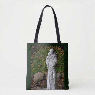 St Anthony hänger lös den katolska Sanktt totot Tygkasse