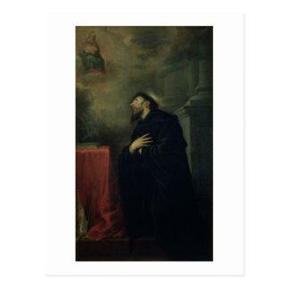 St Augustine 1663 Vykort