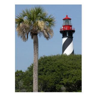 St Augustine Florida fyr Vykort