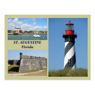 St Augustine, Florida vykort