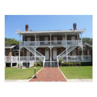 St Augustine fyrmuseum, Florida Vykort