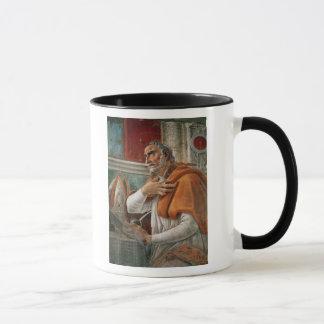 St Augustine i hans cell, c.1480 Mugg