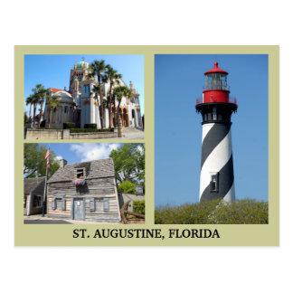 St Augustine turistplatser Vykort