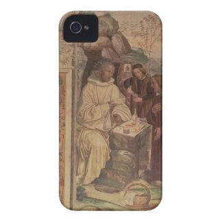 St. Benedict mot en landskap, från livnollan iPhone 4 Case-Mate Skydd