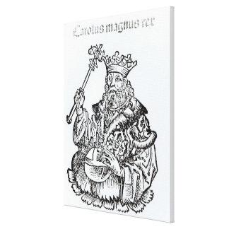 St Charles från 'Liber Chronicarum Canvastryck