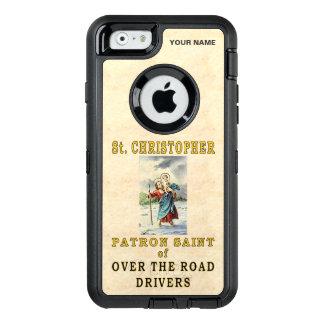 St Christopher (skyddshelgon av OTR-chaufförer) OtterBox iPhone 6/6s Fodral