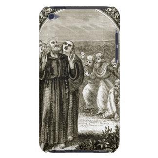St. Columba som skanderar, och anfallit av iPod Touch Fodral