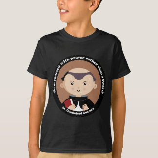 St Dominic av Guzman Tee Shirt