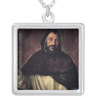 St Dominic Silverpläterat Halsband
