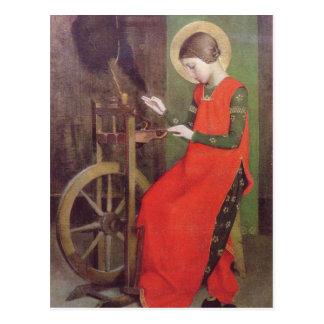 St Elizabeth av Ungern av Marianne fyller på med Vykort