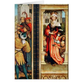 St. Elizabeth av Ungern Hälsningskort