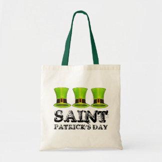 St. För trollhatt för saint patrick's day grön Tygkasse