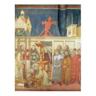 St Francis av Assisi Vykort