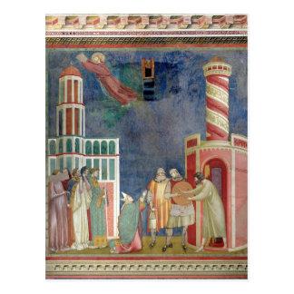 St Francis frigör kättaren, 1297-99 Vykort
