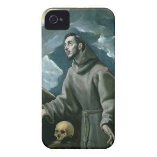 St Francis häleri stigmatana (olja på kanfas) iPhone 4 Case-Mate Fodral