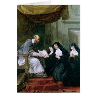 St. Francois de Sale Ge härska Hälsningskort