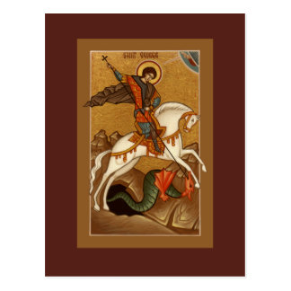 St George bönkort Vykort