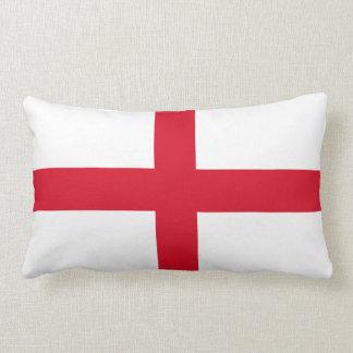 St George för England engelskaflagga kor Lumbarkudde