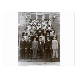 St George grundskola 1960 Vykort