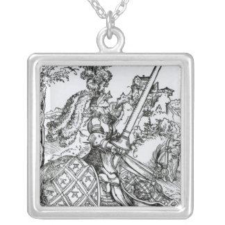 St George på hästryggen, 1507 Silverpläterat Halsband