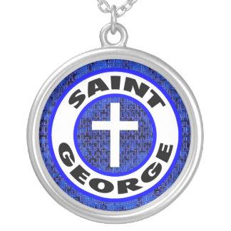 St George Silverpläterat Halsband