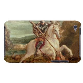 St George som dräpar draken, (olja på panel) iPod Touch Case-Mate Case