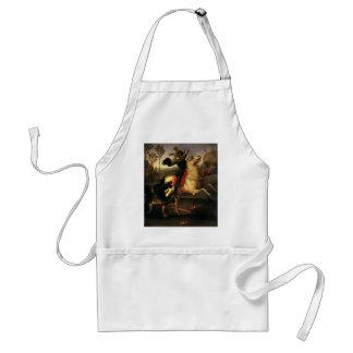 St George som slåss draken, Raphael, Raffaello Förkläde