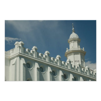 St George Utah, LDS-tempel Poster
