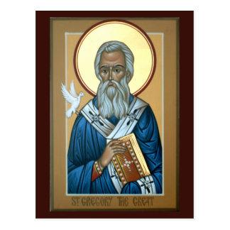 St Gregory det underbara bönkortet Vykort