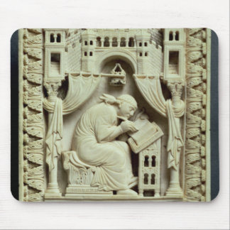 St Gregory handstil med nedanföra scribes Musmatta